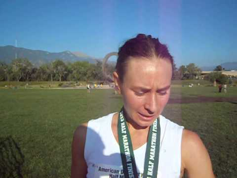 Colorado Springs' Stephanie Wurtz is two-for-two at American Discovery Trail Half Marathon