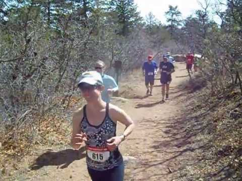 Start of the Big Mountain Trail Race 10K