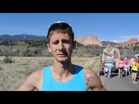 Ryan Meyer wins Take 5 in the Garden 5 Mile race
