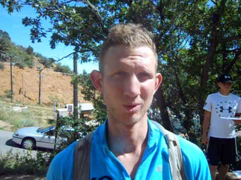 """Brandon Stapanowich conquers """"The Stank,"""" the 96-mile Pikes Peak ultra"""