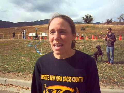 Fall Series II winner new to Colorado Springs running community, but she's not shy
