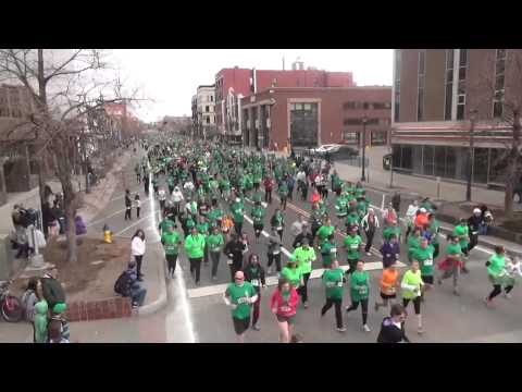 A cool look at the 5K on St. Patricks Day