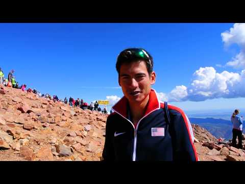 Sage Canaday talks about his win in the 2014 Pikes Peak Ascent