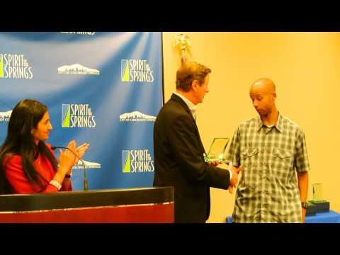 Joe Gray, Shannon Payne, Allie McLaughlin, win Spirit of the Springs Award