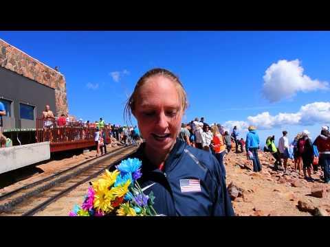 Shannon Payne confirms the Pikes Peak Ascent is a double-tough race