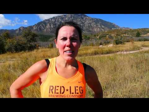 Kierann Toth wins the Cheyenne Mountain Run