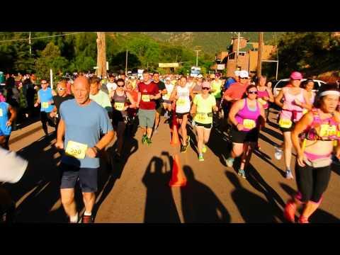 Start of the 2015 Garden of the Gods 10-Mile Run
