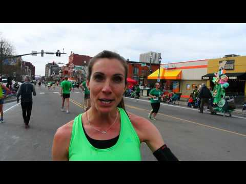 Alexis Wilbert talks about winning 5K on St. Patrick's Day