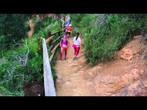 Start of the 2015 Barr Trail Mountain Race