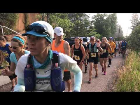 Barr Trail Mountain Race 2017