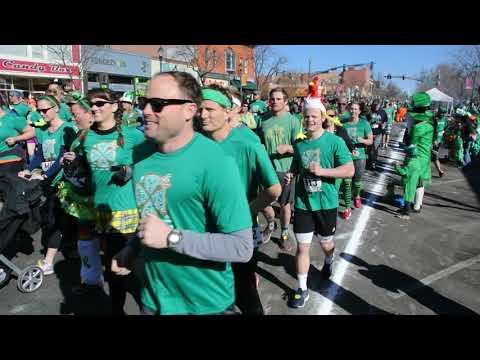 And they're of in the 5K on St. Patrick's Day