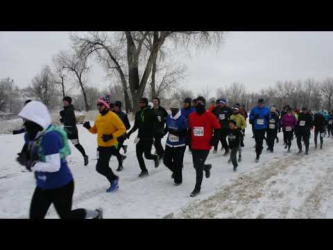 Winter returns to Winter Series: Start of the 5-miler