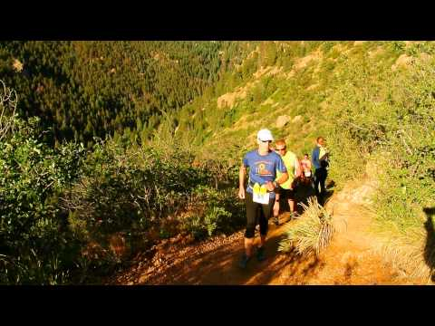 Start of the Barr Trail Mountain Race