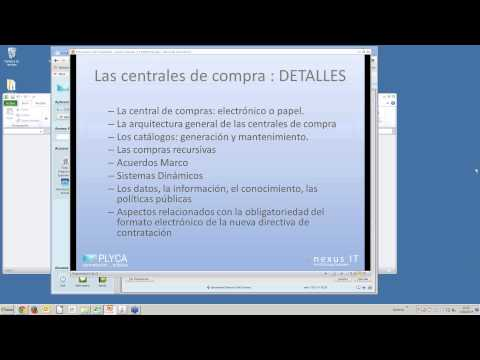 Seminario Virtual (Webinar) 6. PLYCA Central de Compras - 11-02-2014