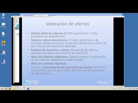 Seminario Virtual (Webinar) 7. PLYCA Subastas Electrónicas - 11-03-2014