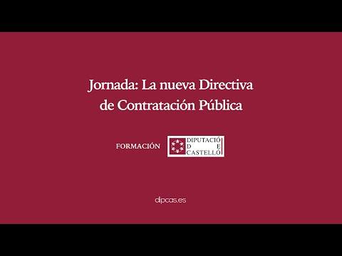 Jornada sobre la nueva Directiva de Contratación Pública