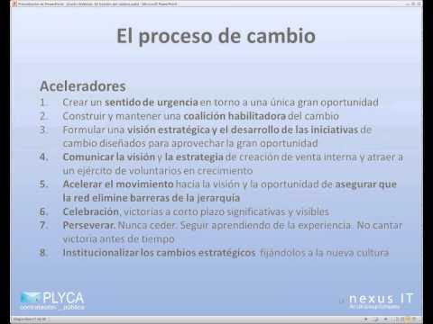 Seminario Virtual (Webinar) 10. PLYCA - La gestión del cambio en la contratación pública electrónic…