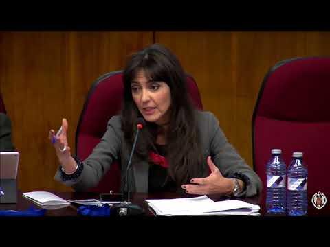 Concepción Campos Acuña en elI Congreso Anual del ObCP