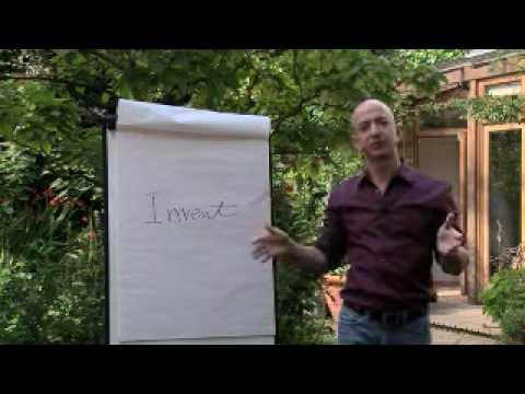 Uma aula de empreendedorismo com Jeff Bezos fundador Amazon.com