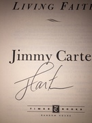 Jimmy Carter Signed Book