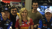 NHRA, Funny Car Drivers, John Force, Courtney Forc