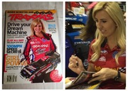 #26-23, NHRA, Funny Car Driver, Courtney Force, Si