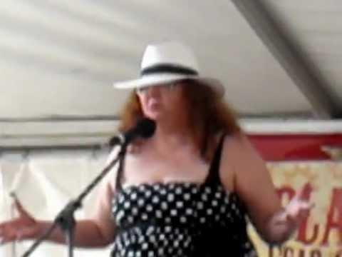 Lou Steer performing Dirty Laundry @ Marrickville Festival 2011