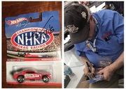 #14-16, NHRA, Tom(Mongoose)McEwen, Signing, Hot Wheels, Racing, 2011, NHRA,
