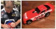 #21-47, #21-48, NHRA, Mark Oswald, Signing, Hot Wheels, Motorcraft, Funny Car, 1/64 scale