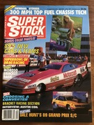 #28-37, , NHRA, Mark Oswald, Signing, Super Stock, Magazine, April, 1989, Motorcraft, Funny Car,