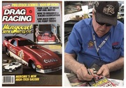 #28-36, NHRA, Tom(Mongoose)McEwen, Signing, Drag Racing, Magazine, May, 1984, Hot Wheels, Mongoose 30th Anniversary, Coors, Funny Car,
