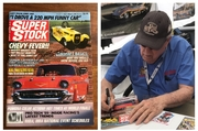 #28-35, NHRA, Tom(Mongoose)McEwen, Signing, Super Stock, Magazine, February, 1989, Hot Wheels,