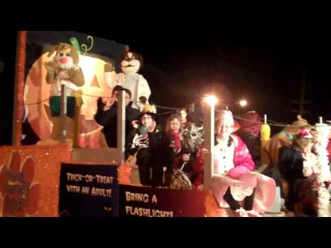 Meridian Health's Doctor Bernard & Hopscotch At the Toms River Halloween Parade