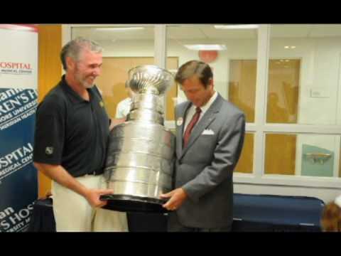 Stanley Cup Arrives At K. Hovnanian Children's Hospital
