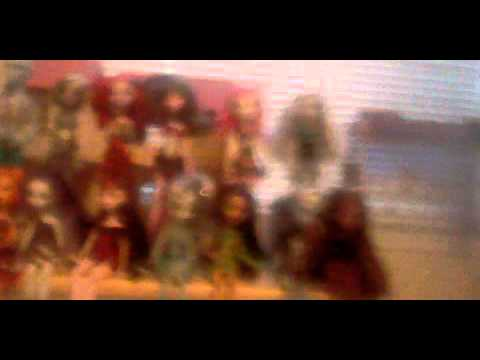 my  new dolls and bloopers