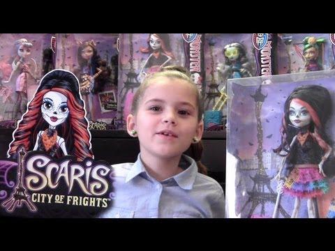 Skelita Calaveras Monster High Doll Toy Review, Dia De Los Muertos, Day of the Dead
