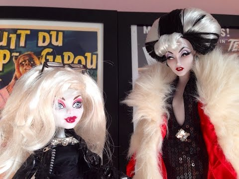 DieAnna De vil monster high doll