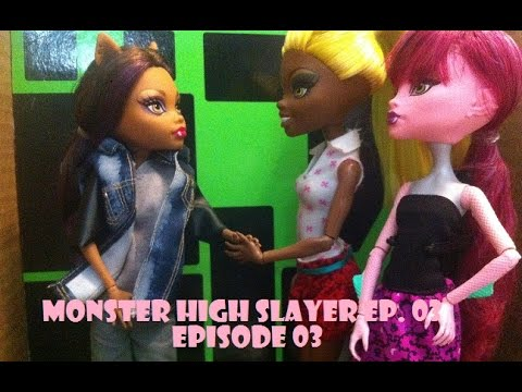 Monster High Stop Motion | Wolf Fight | Ep.03