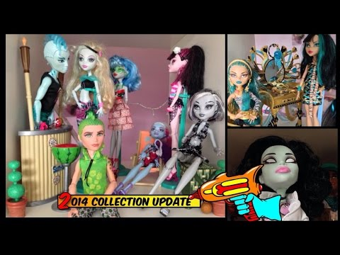Monster High collection video 2014 update