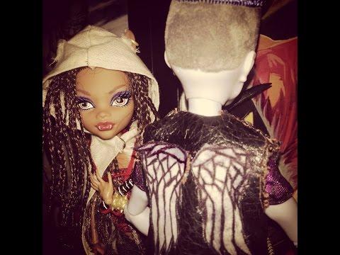 Monster High Walking Dead Custom Dolls Slo mo Daryl Dixon
