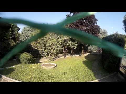 VR uGimbal Work in progress test on VRX 300