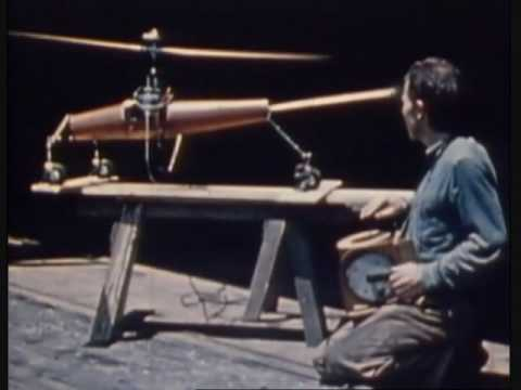 Worlds First RC Helicopter from 1941 also Crazy Accident!!