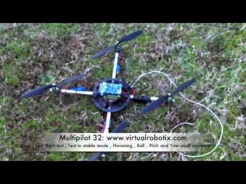 Multipilot 32 Official Hardware First Flight