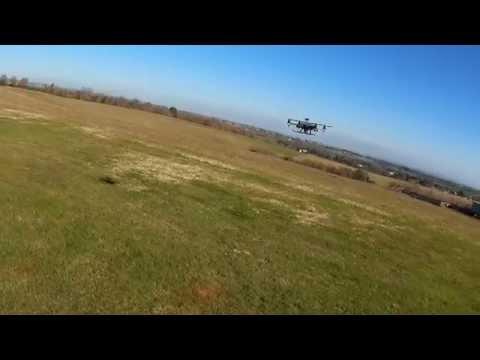 Reptile 450 test wind 20 km/h