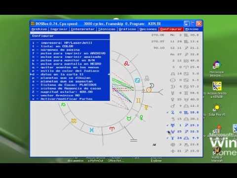 Tutorial Kepler. Configuración y opciones de la carta.