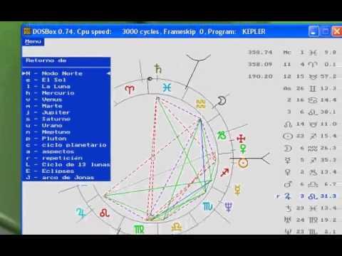 Tutorial Kepler. Trabajo con la Revolución Solar. Parte 1.
