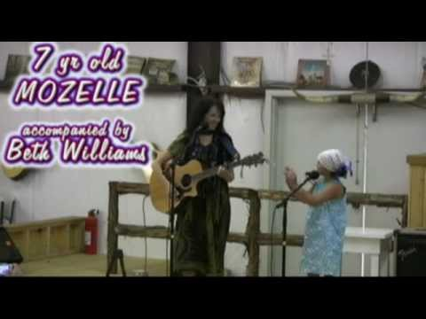 7 yr. Old Mozelle - JESUS LOVES ME