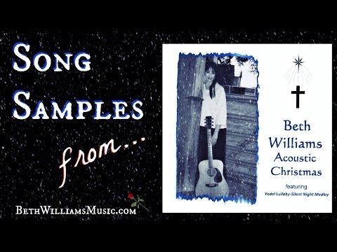 ACOUSTIC CHRISTMAS - Beth Williams CD Sampler