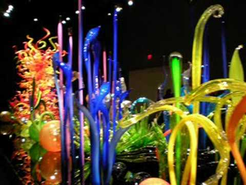 Dale Chihuly at the De Young