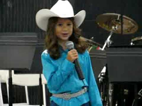 Lydia 5 yrs.old wins the Taylor Ware Yodel On Contest!!